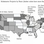 [MAP] Kickstarter Projects by State !