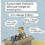 [DESSIN] Les Déconvenues du Crowdfunding by Griz