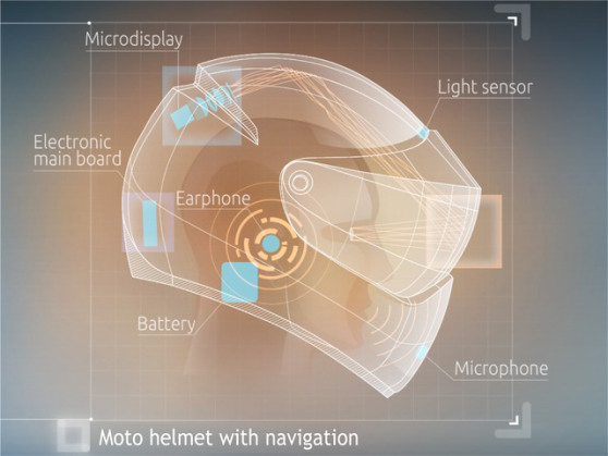 Wearable technology: This time it's a$2,000helmet