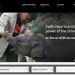 Earth Hour Blue : Le crowdfunding pour protéger l'environnement