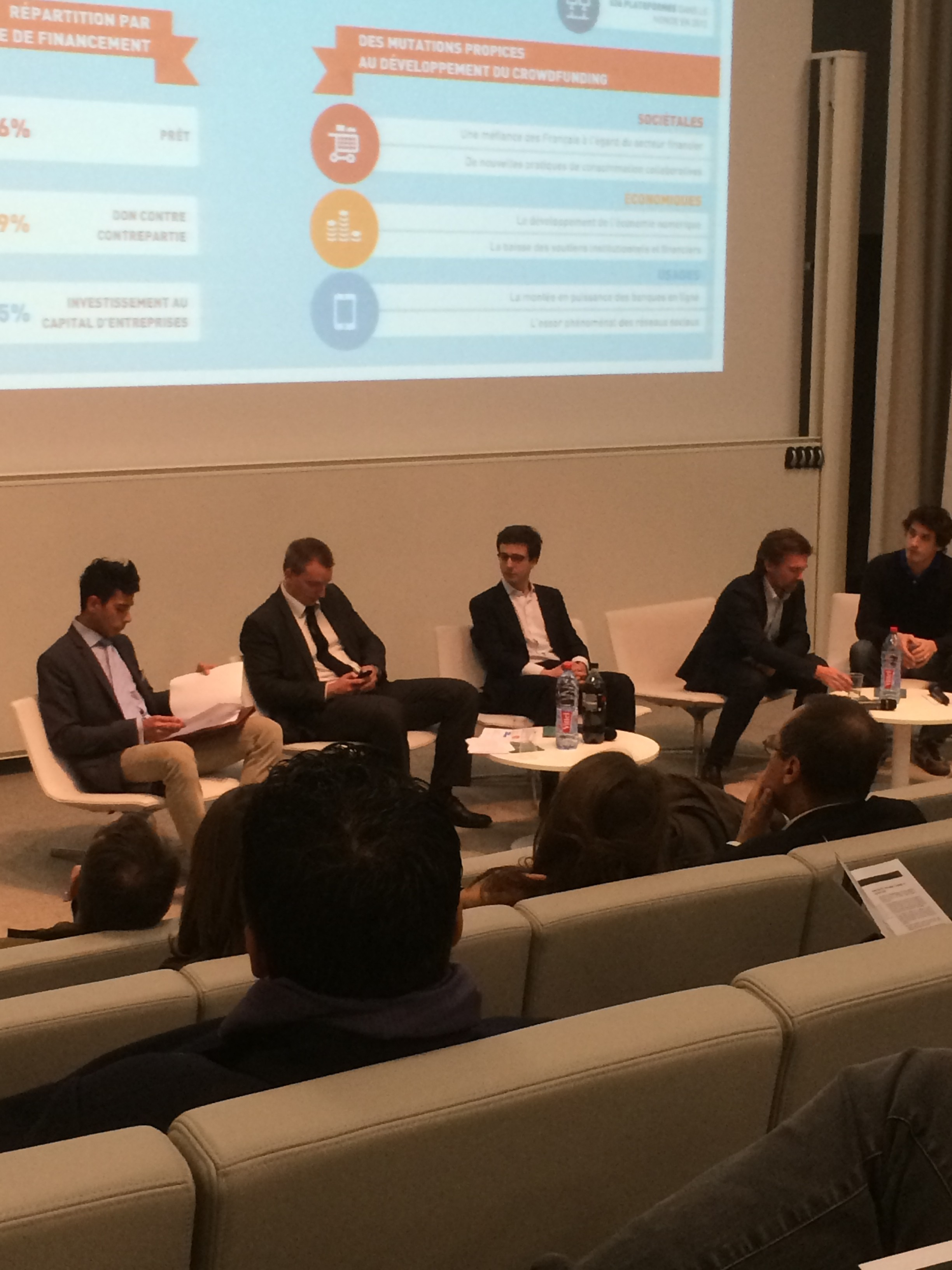 Conférence HEC Crowdfunding