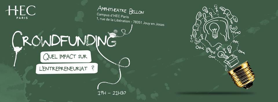 HEC Conférence Débat Crowdfunding