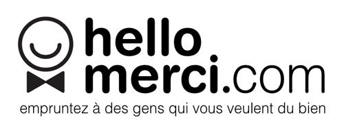 Logo Hello Merci plateforme de crowdfunding