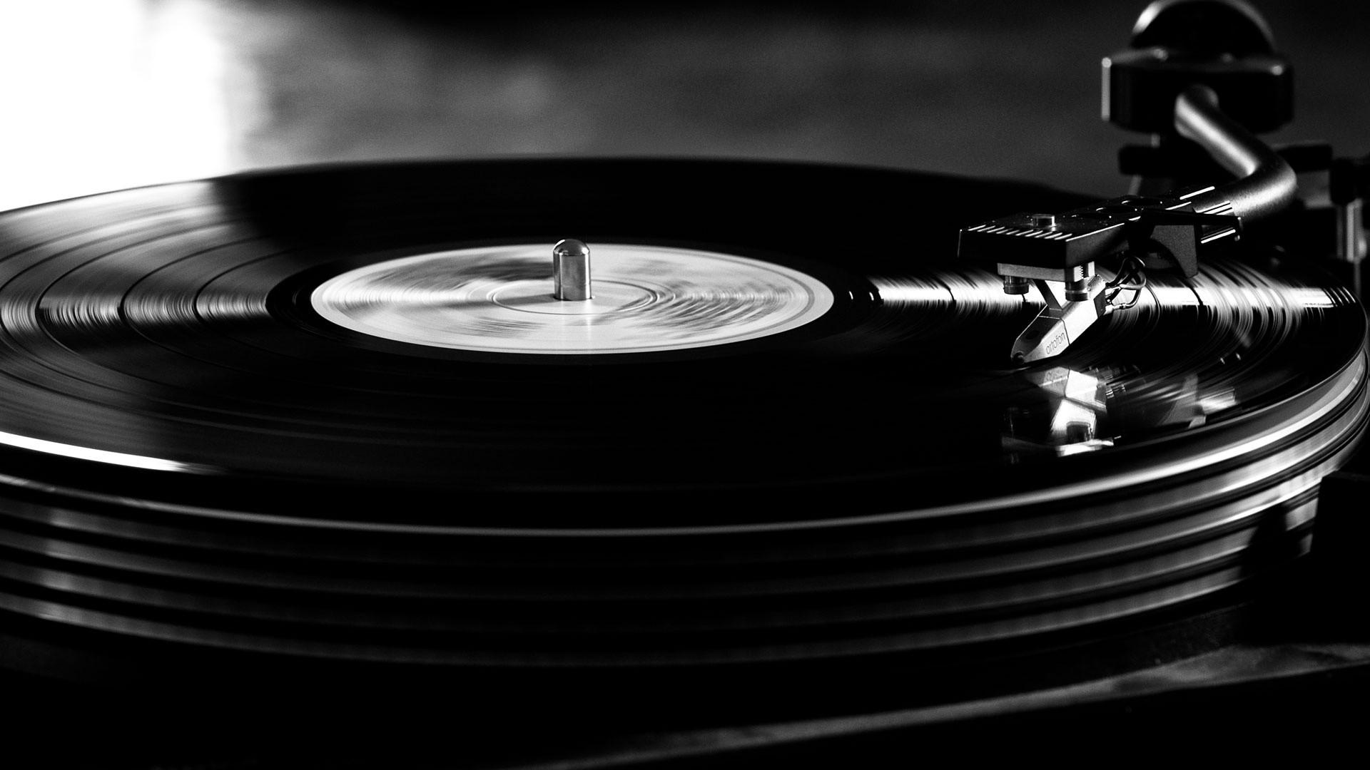 Vinyle noir et blanc