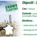 Reforest'Action lance le concept de crowdplanting !