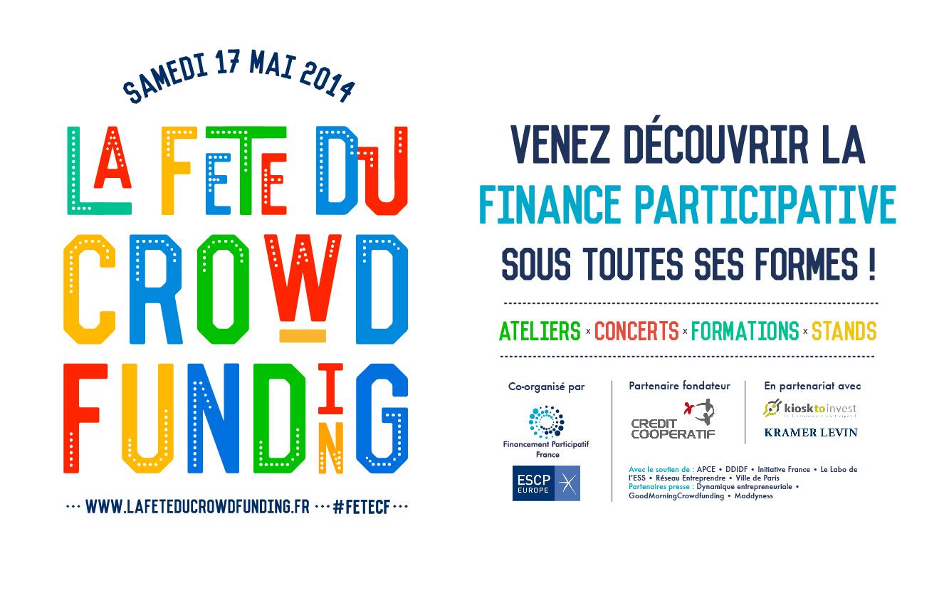 La Fête du Crowdfunding 17 Mai