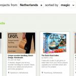 Les Néerlandais peuvent désormais lancer leur projet sur Kickstarter