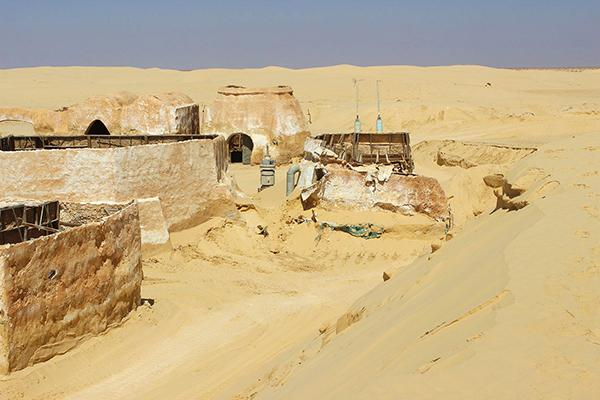 Mos Espa sauver le lieu de tournage de Star Wars