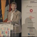 [EXCLU VIDEO] Premier discours d'Arnaud Montebourg sur le Crowdfunding