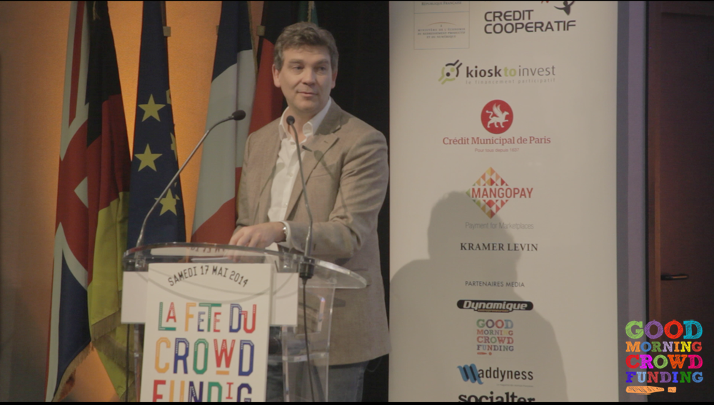 Arnaud Montebourg crowdfunding