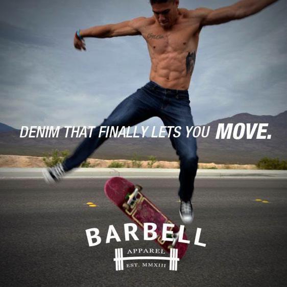Le denim Barbell