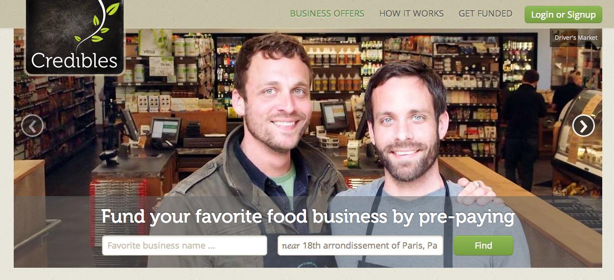Plateforme de crowdfunding pour entreprises alimentaires
