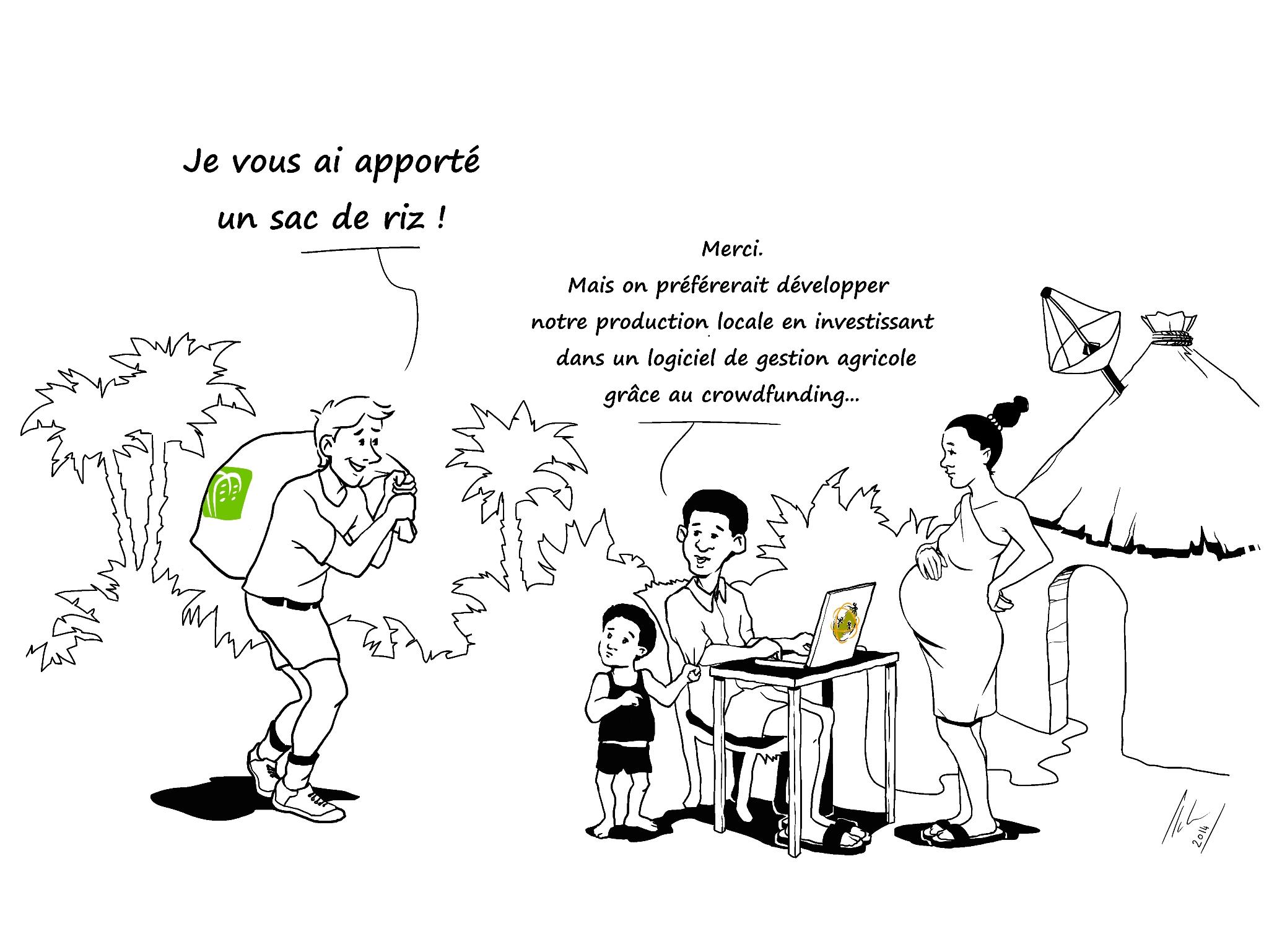Dessin local et participatif