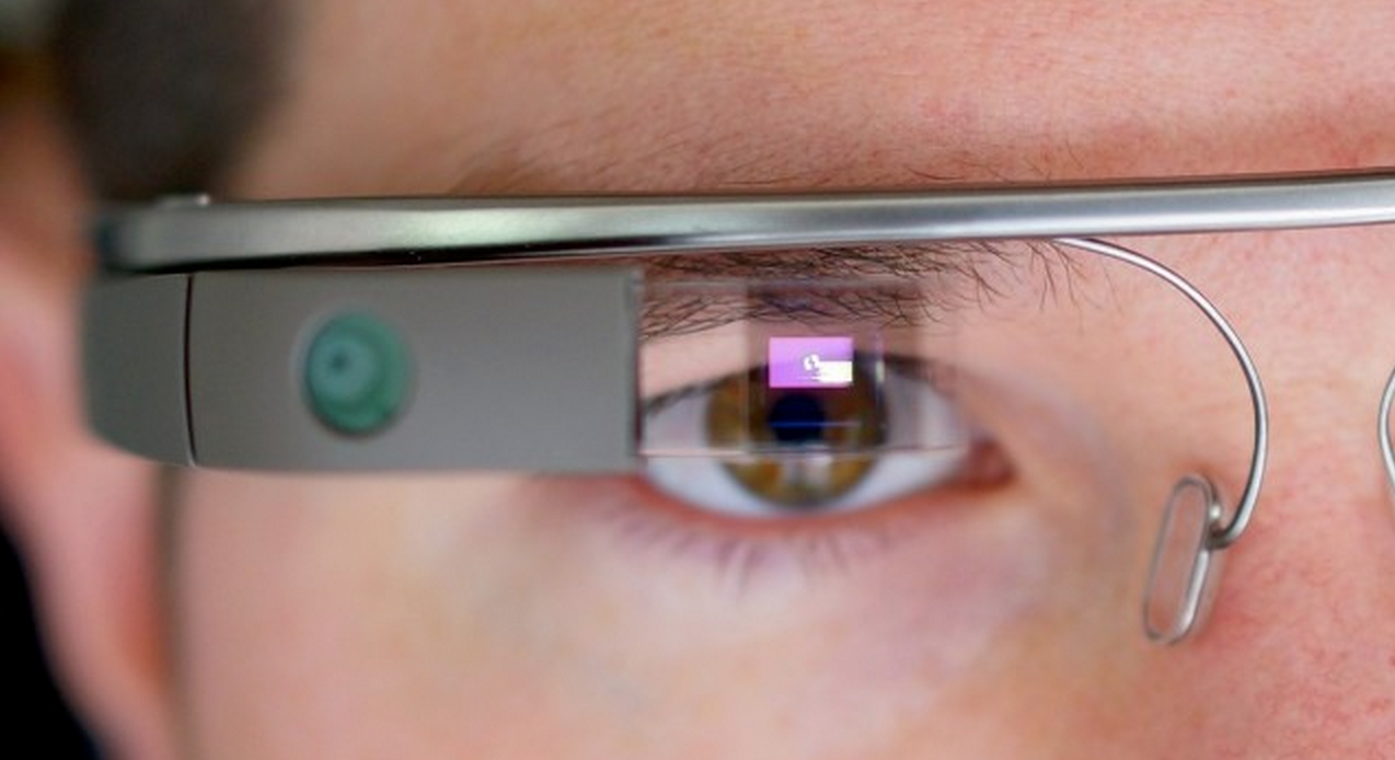 Verre google glass blague kickstarter