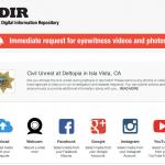 La police de LA combat le crime par le crowdsourcing