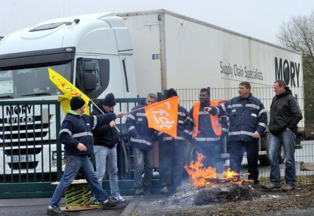 Manifestation entreprise Mory Ducros