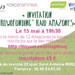 [AGENDA] 15 Mai – Soirée Crowdfunding Raid Amazone