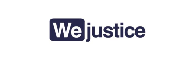 Logo plateforme de crowdfunding WeJustice