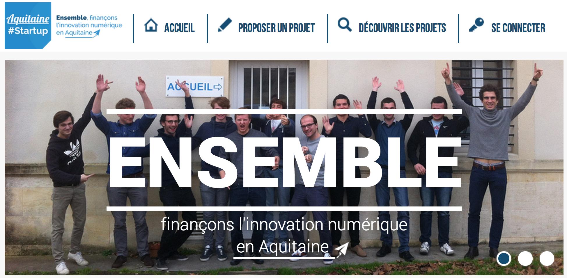 L'Auberge numérique lance la plateforme de crowdfunding Aquitaine Startup
