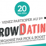 [AGENDA] Le 20 Juin – CrowDating by Pick & Boost