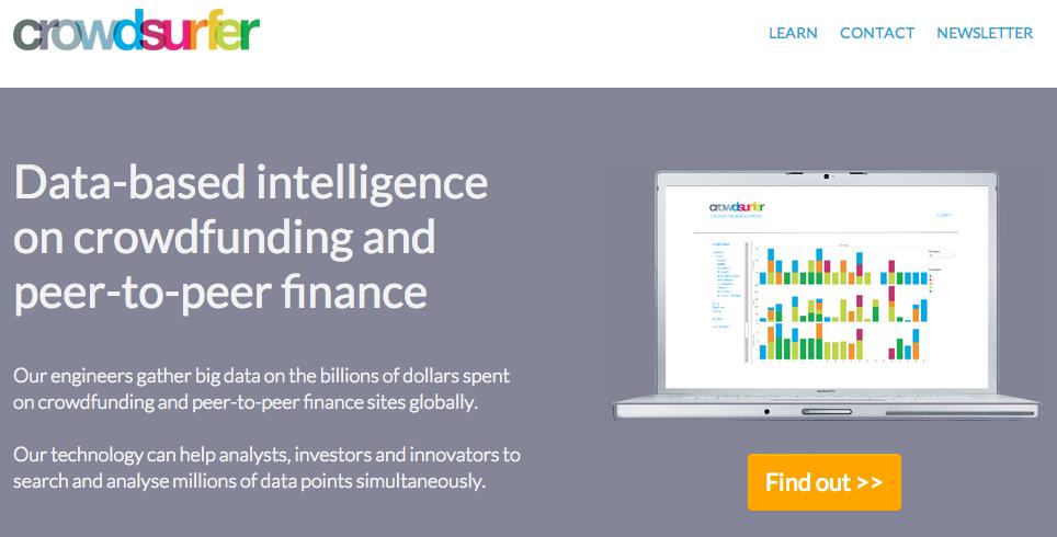 Agrégateur de données liées au crowdfunding