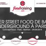 [GASTRONOMIE] La 1ère plateforme de crowdfunding dédiée aux projets culinaires !