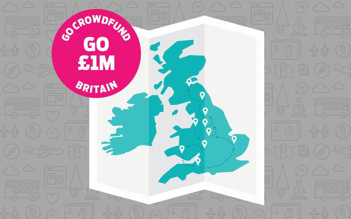 Go Crowdfund Britain est une mission créée par Indiegogo dans l'objectif d'initier les britanniques au crowdfunding