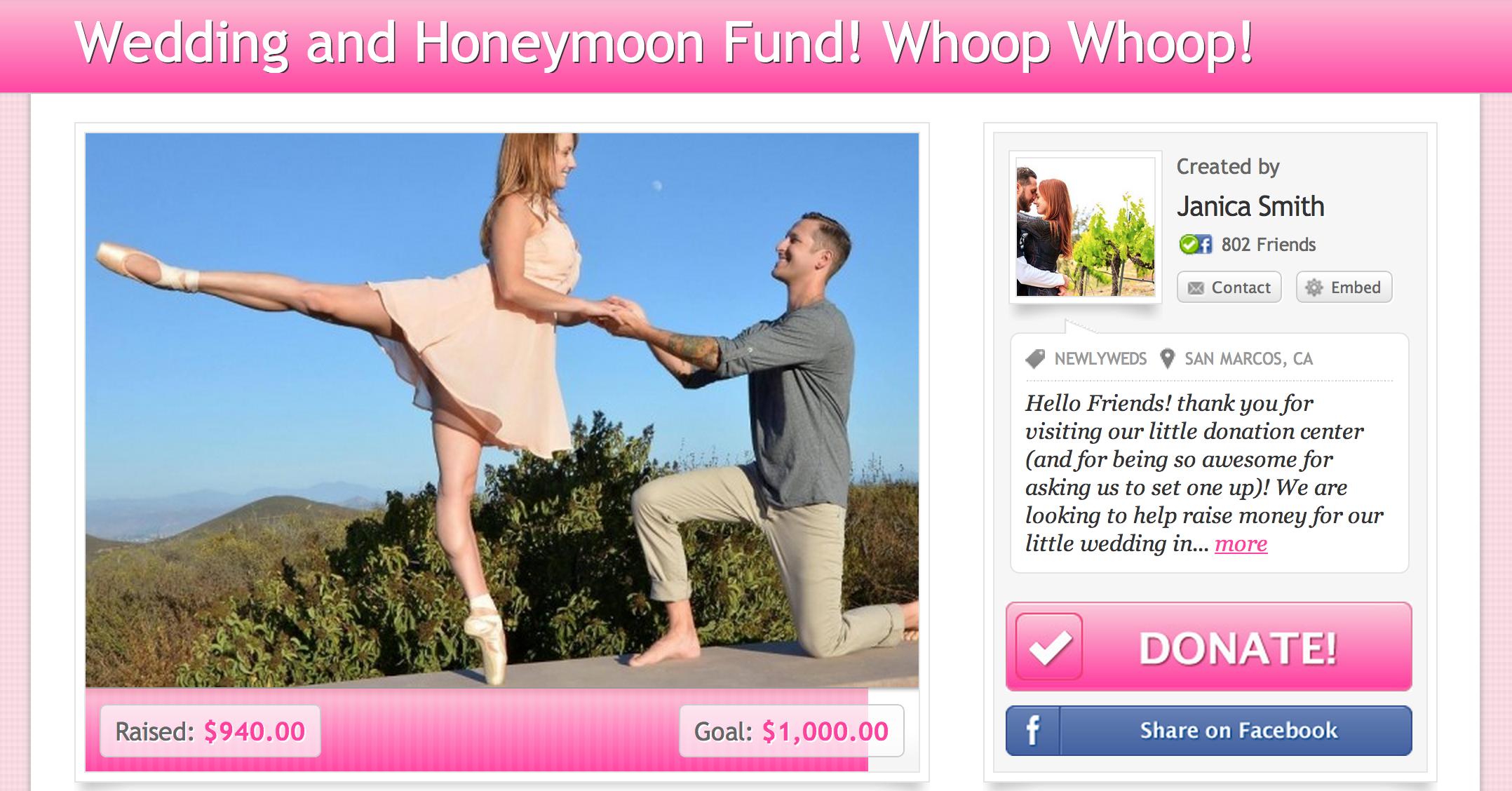 Se marier sans trop dépenser. La solution : le crowdfunding