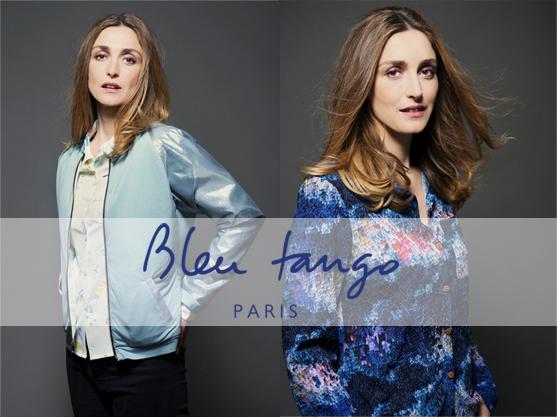 Julie Gayet egerie Bleu Tango