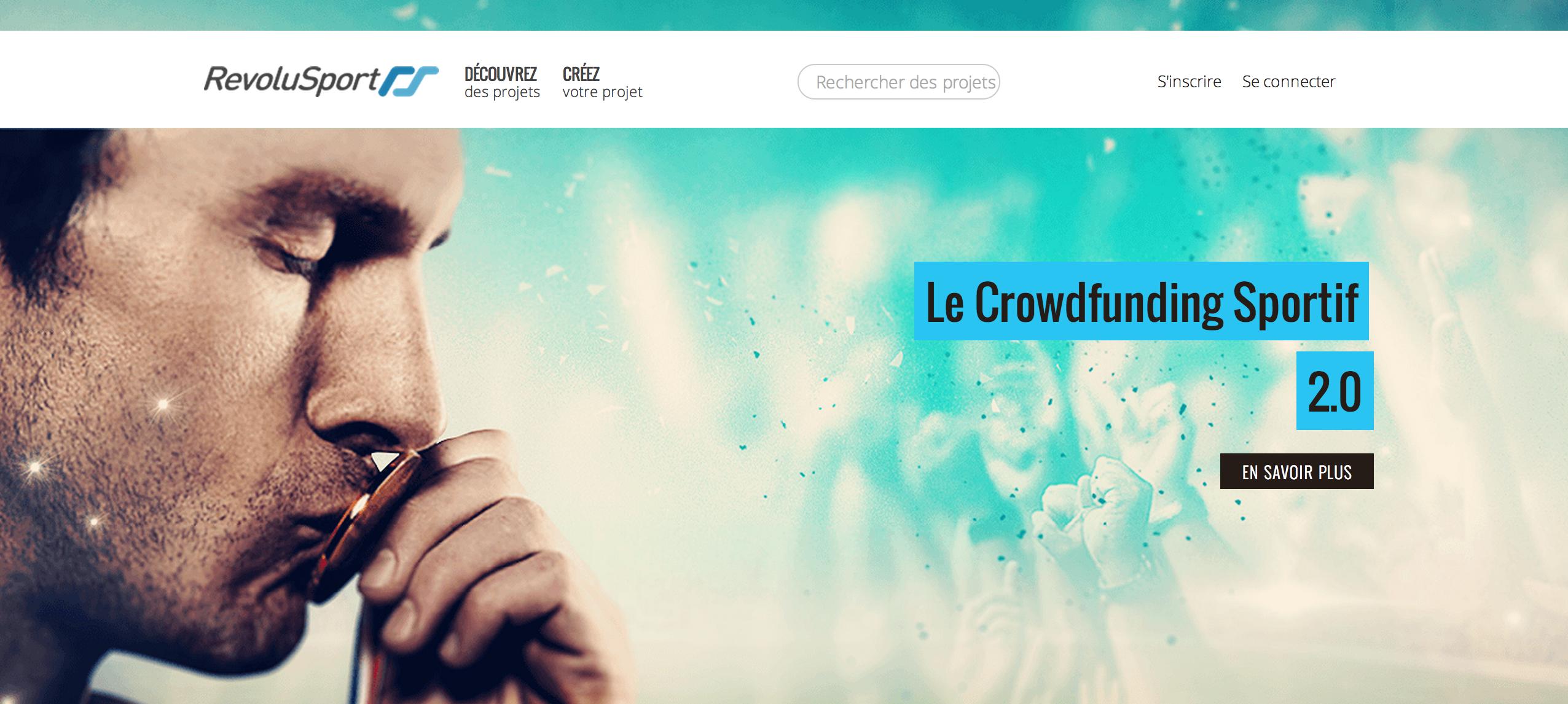 La plateforme de crowdfunding RevoluSport propose aux internautes de financer les projets des athlètes de haut niveau