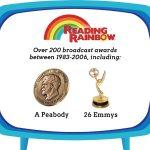 PDJ : 10 Juin – La série Reading Rainbow