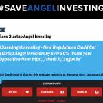[EQUITY] Seedinvest proteste contre la réglementation en projet concernant les investisseurs accrédités.