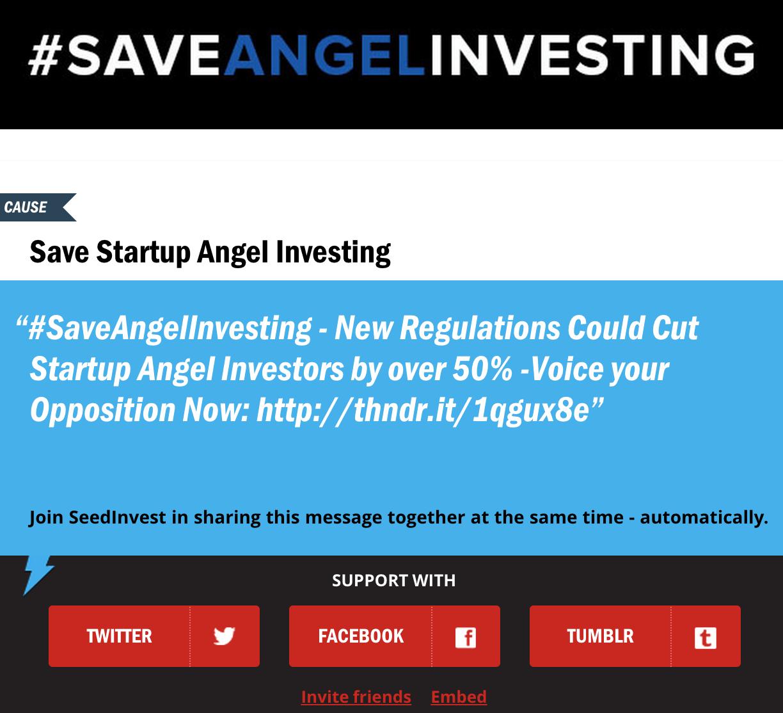 SaveAngelInvesting