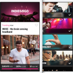 [SUIVI] L'application iPhone Indiegogo maintenant disponible partout