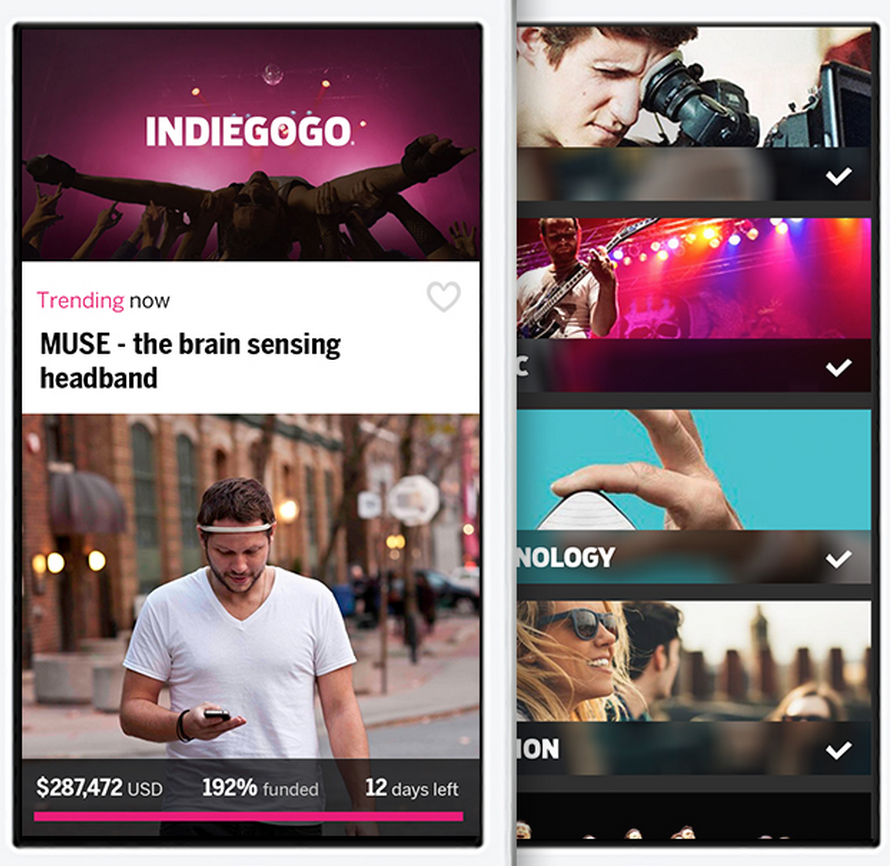 Application Indiegogo