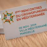 Les 1ères Rencontres du Crowdfunding en Méditerranée
