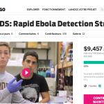 [MÉDECINE] Une campagne de crowdfunding pour financer un test de dépistage du virus Ebola