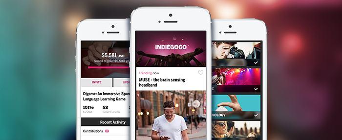 Indiegogo appli