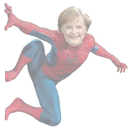 Merkel spider man