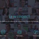 PDJ : 18 Décembre – W Project l'entrepreneuriat français à l'étranger