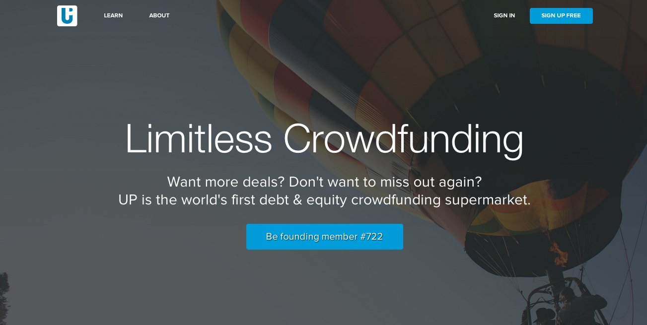 investUP  Simple and convenient crowdfunding