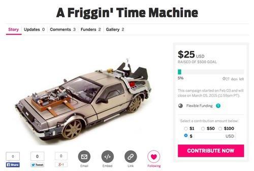 machine à voyager dans le temps
