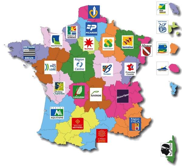 France région