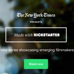 [LANCEMENT] Kickstarter, le nouveau producteur de contenus ?