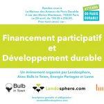 [ÉVÉNEMENT] Financement participatif et développement durable