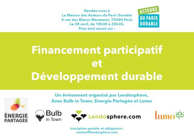 Financement participatif et développement durable