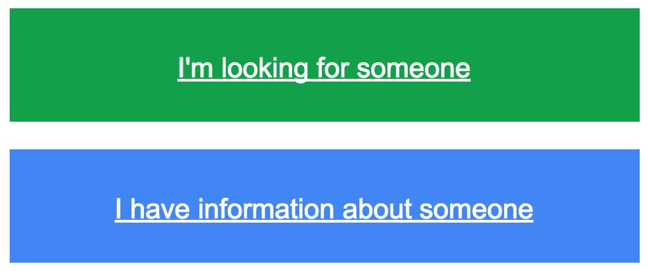 Person Finder, le crowdsourcing par Google