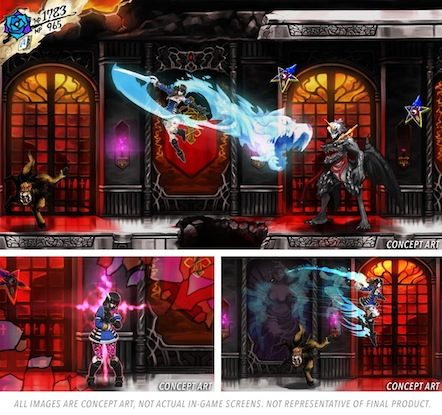 Bloodstained, projet crowdfunding