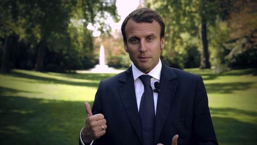 Emmanuel Macron & crowdfunding