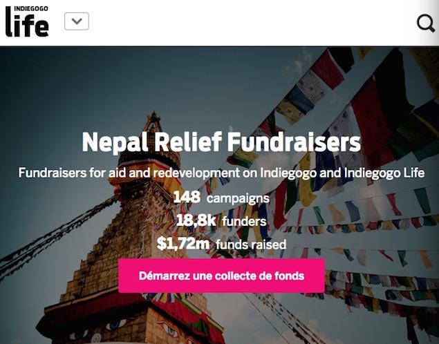 Indiegogo, record crowdfunding